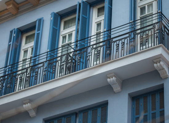 Bahar Boutique hotel front balcony